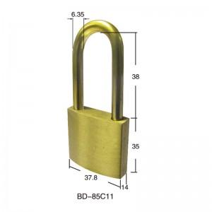 Full Brass Safety Padlock BD-85C11~85C21