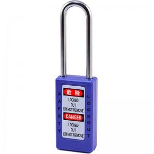 Długi Blokada bezpieczeństwa Korpus kłódki BD-8575