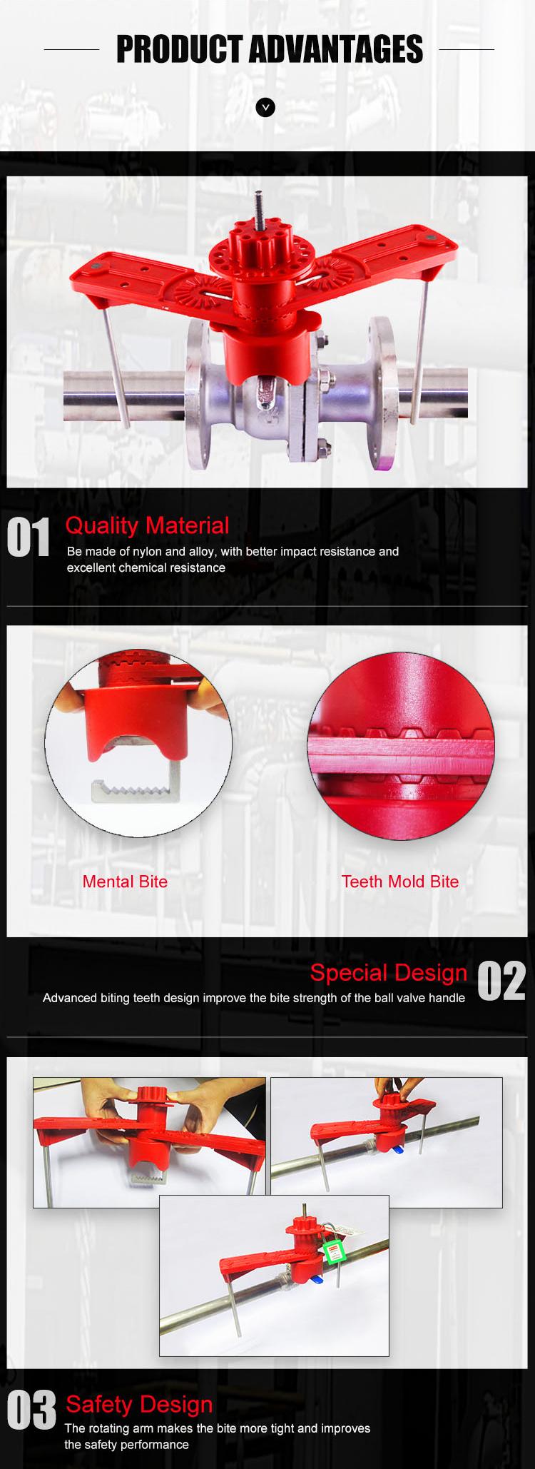 Double braccia Ball Universal Valve risk BD-8213