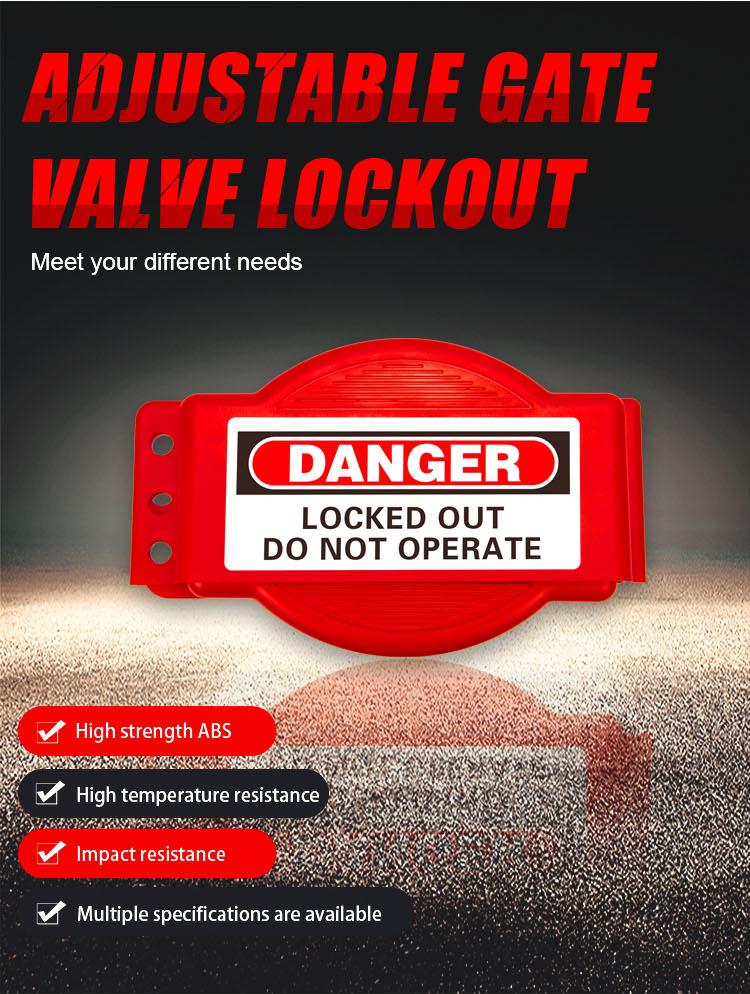 Adjustable Gate Valve Lockout BD-8239