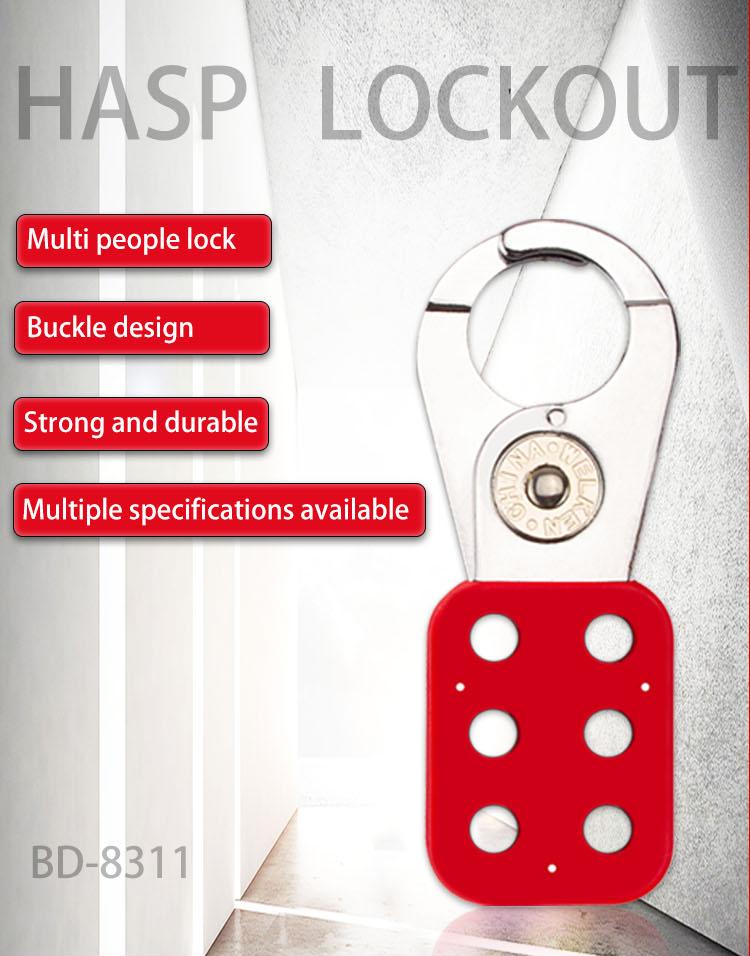 Hasp Lockout BD-8311 BD-8312