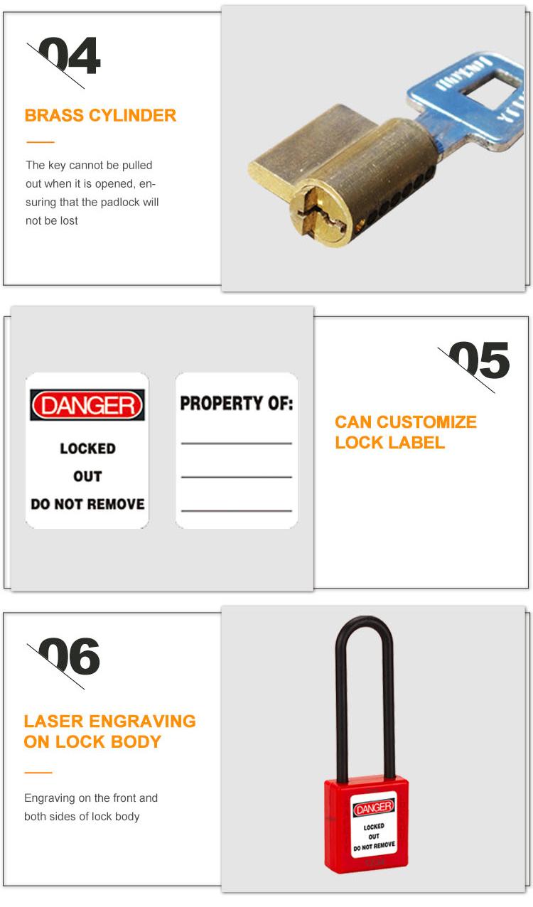 Insulation Safety Padlock BD-8535