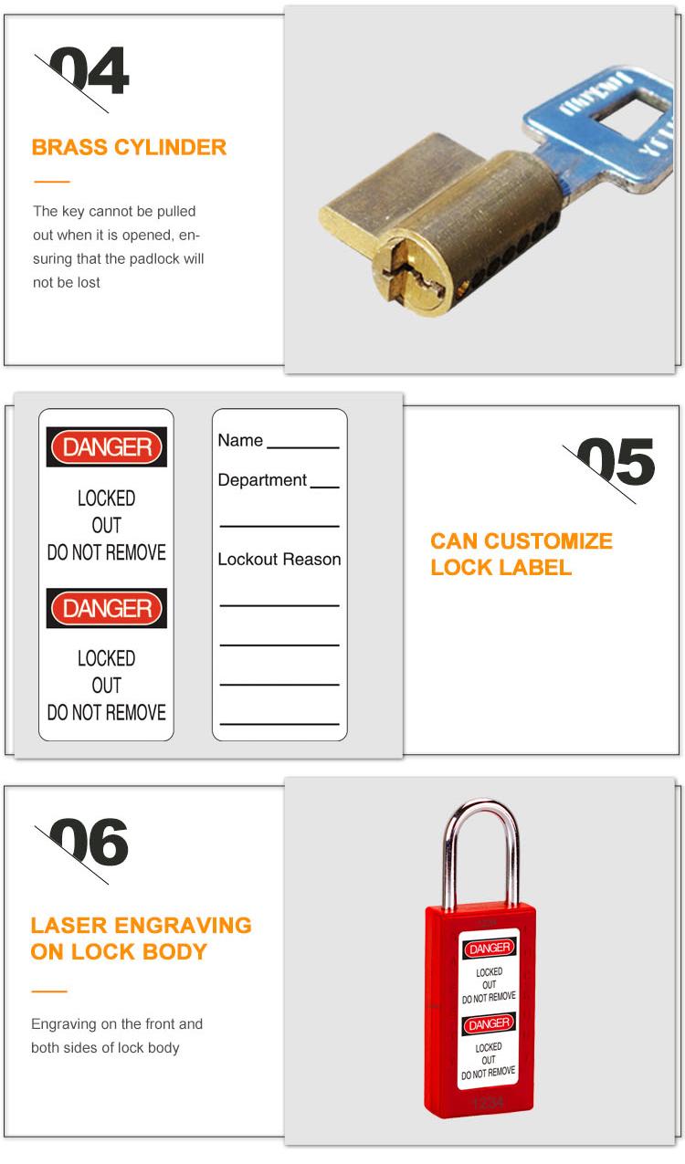 Долго заклучување тело за безбедност на Катанец BD-8571