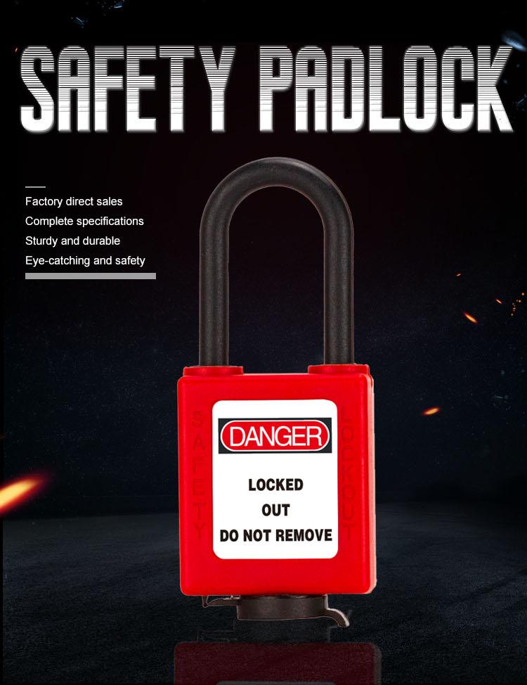 Anti-Dust Safety Padlock BD-8591N