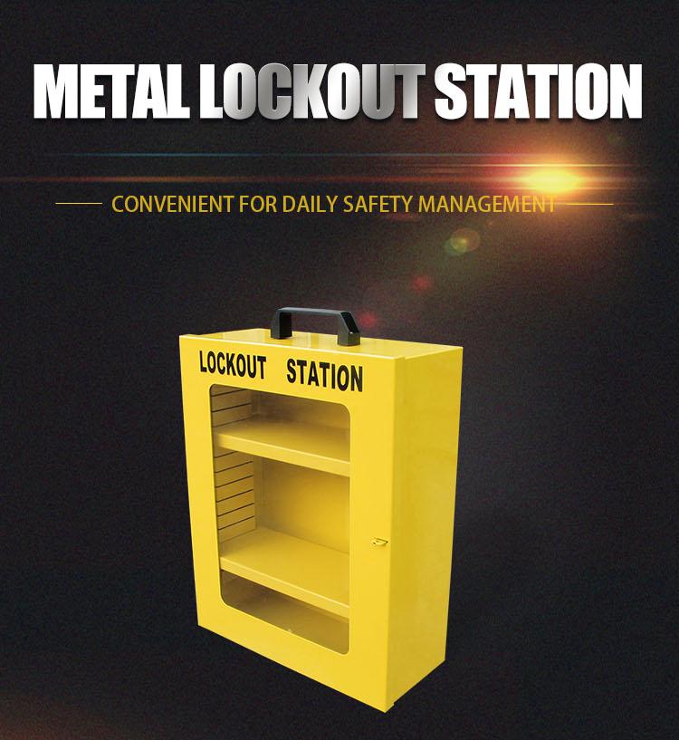 Metal Lockout Station BD-8737